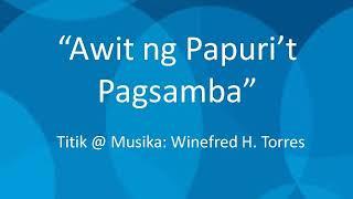 """""""Awit ng Papuri't Pagsamba"""" BFJ Music"""