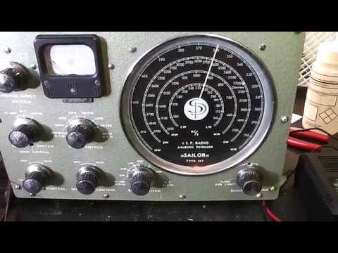 Sailor 16T Vintage Marine Radio Repair.