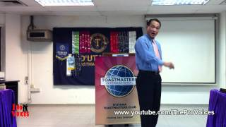 Toastmasters International President