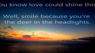 Owl City-Deer in the headlights lyrics video