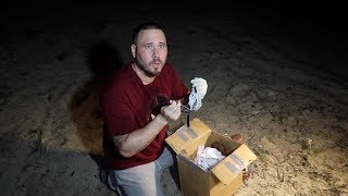 **BAD IDEA** WE OPENED A CRAIGSLIST MYSTERY BOX AT 3AM