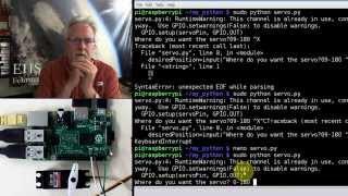 Raspberry Pi LESSON 28. Controlling a Servo with Raspberry Pi and Python
