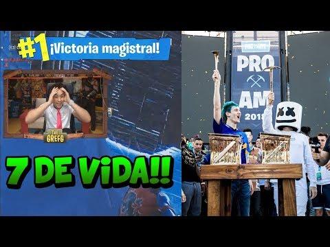 The Grefg Reacciona A La Victoria De Ninja Y Marshmello En El Torneo