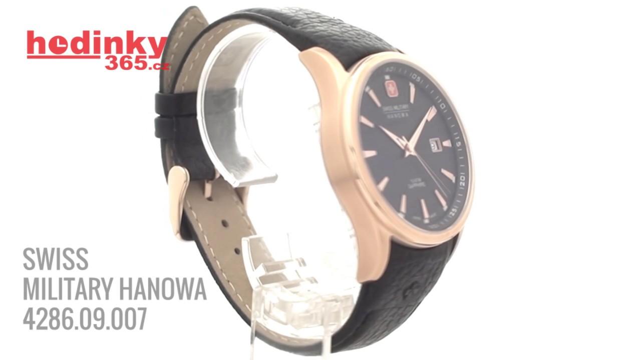 eb75ec9761e SWISS MILITARY HANOWA 4286 09 007 - YouTube
