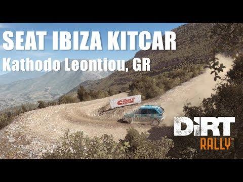 #350 DiRT RALLY - SEAT IBIZA KITCAR - Kathodo Leontiou, GR