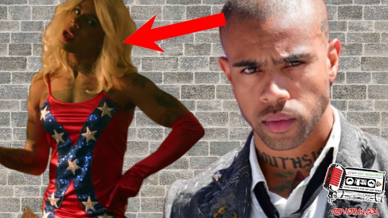 Is Vic Mensa Trying To Tell Us Something By Wearing This DRESS??