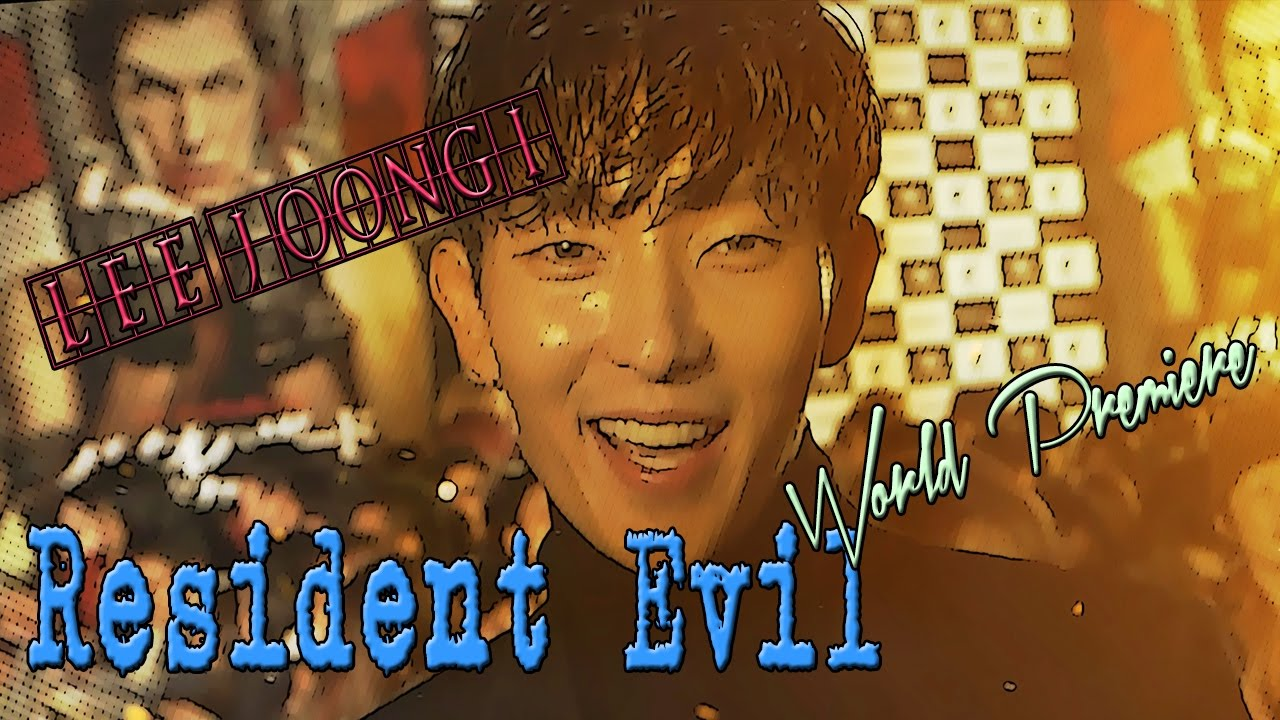 Resident Evil The Final Chapter Premiere In: [HD]Lee Joon Gi 이준기 Resident Evil The Final Chapter World