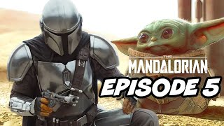 Star Wars The Mandalorian Episode 5 - TOP 10 WTF and Easter Eggs