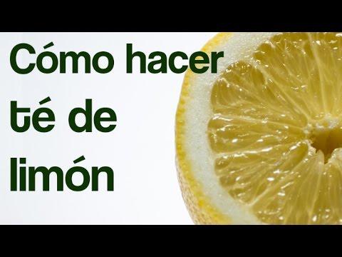 Cómo hacer el té de limón para obtener sus beneficios | INNATIA.COM