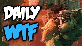 Dota 2 Daily WTF - Haunted Colosseum