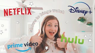 My top TV SHOW / MOVIE recommendations | Netflix, Hulu, Disney+, & more!