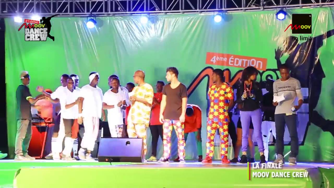 Moov Bénin - Les Beeworkers remportent le Moov Dance Crew