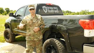 Rebranded Customs. Featured Veteran Owned Business with the Just One Project