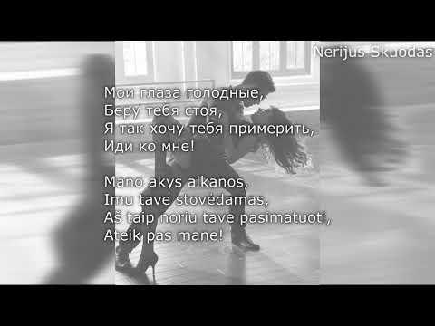 [lyrics] GAZIROVKA - Black Bacardi..![LIETUVIŠKAI!]