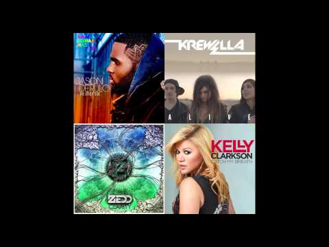 Jason Derulo,Krewella,Zedd,Kelly Clarkson -Alive To Catch The Other Side Of Clarity