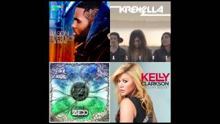 Jason Derulo,Krewella,Zedd,Kelly Clarkson -  Alive To Catch The Other Side Of Clarity