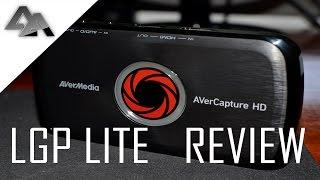 Avermedia LGP Lite HD Capture Card Review!