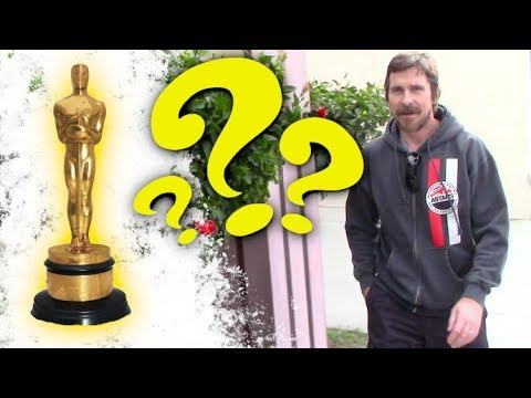 Christian Bale Flashes A Cheeky Grin When Asked If He Will Win An Oscar For 'Vice'