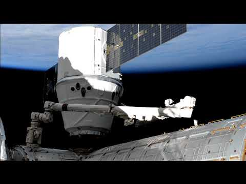 Expedition 59 SpaceX CRS 17 Installation May 6, 2019