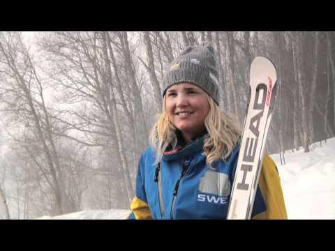 Anna Holmlund i Åre