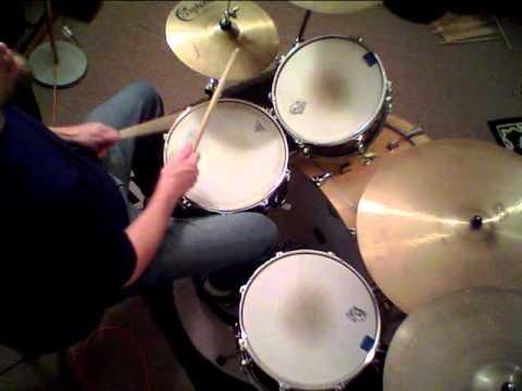 "Jon Biggs Pork Pie Drums "" Down On My Knees "" - Drum Cover"