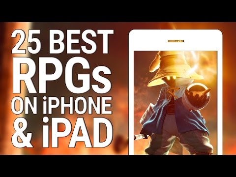 25 BEST RPGS ON iPHONE AND iPAD
