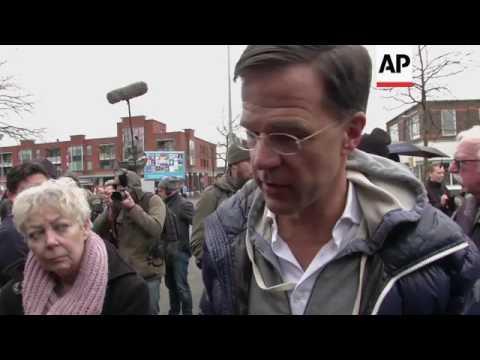 Dutch PM Rutte kicks off election campaign