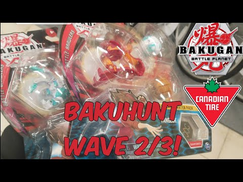 Wave 3 Starter Packs! Bakugan Battle Planet Hunting @Canadian Tire,Indigo Chapters, & Walmart Canada