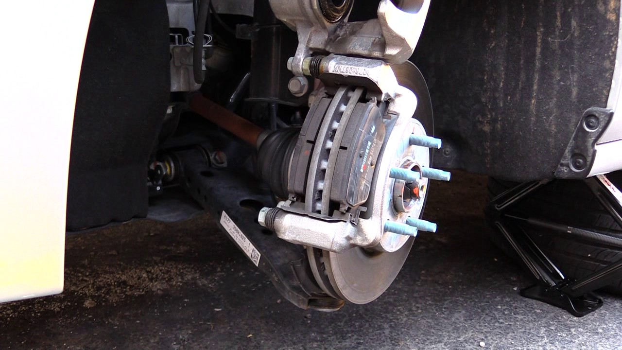 Chevy Cruze Brake Pad Change -Most Years Easy! - YouTube