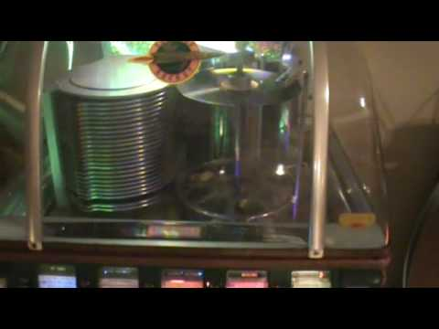 "BUDDY HOLLY ""PEGGY SUE"" 78  RPM RECORD PLAYED ON MY 1952 ROCKOLA SUPER ROCKET JUKEBOX"