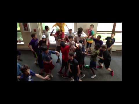 Harlem Shake - Lime Kiln Middle School North Bay Live Camp (Part 1)