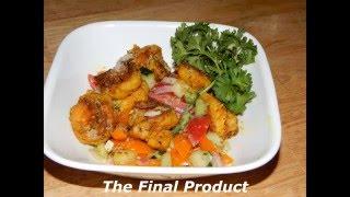 Mediterranean Shrimp Salad - Easy Shrimp Recipe