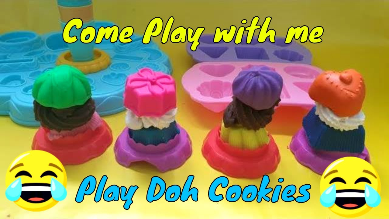 Play Doh Knet Küche Decorate Cookies From Play Set Play Doh For Kids On