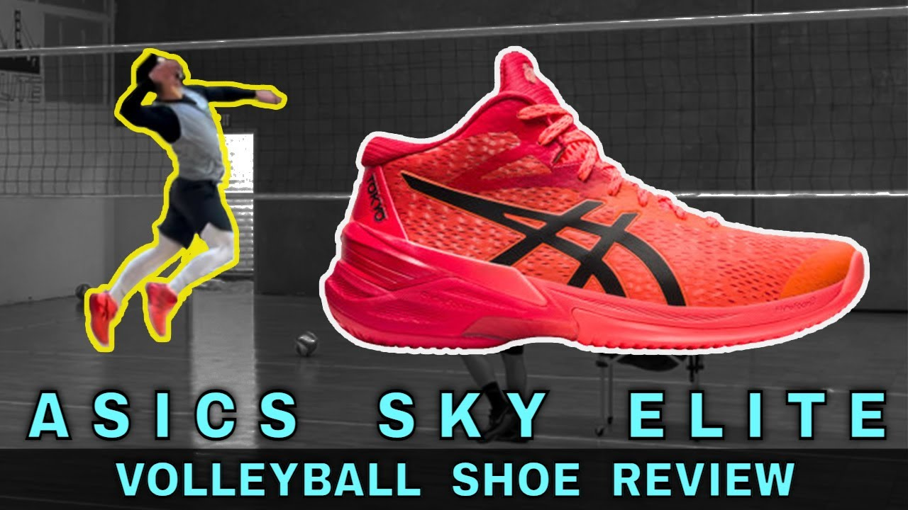 ASICS SKY ELITE FF MT | Volleyball Shoe Review