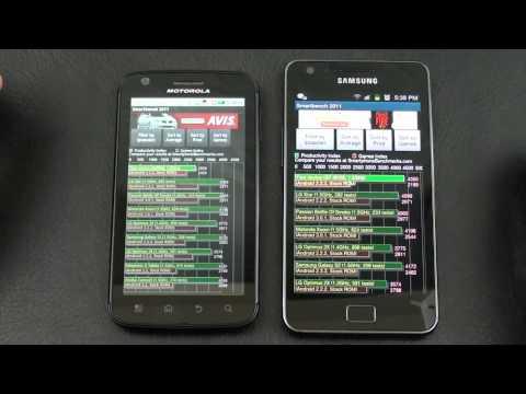 Motorola Atrix 4G vs Samsung Galaxy S 2