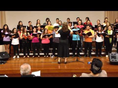 European University Cyprus choir 2