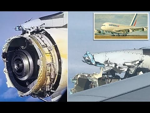 Air France jet loses its engine cover while 7 MILES high