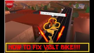 HOW TO FIX VOLT BIKE GLITCH||Roblox jailbreak||!!!