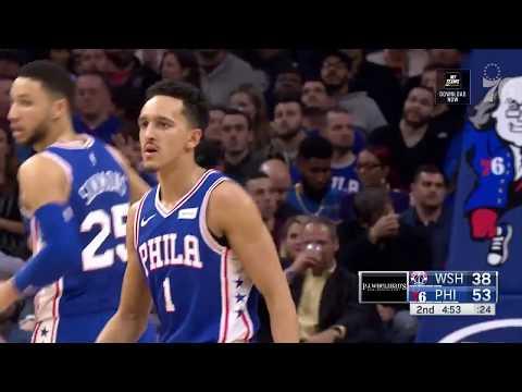 Landry Shamet | Highlights vs Washington Wizards (1.8.19)