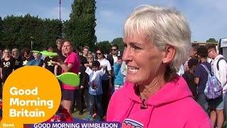 Judy Murray's Andy Murray VS Karlovic Predictions   Good Morning Britain