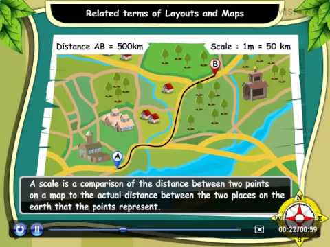 Math-Related terms of Layouts and Maps