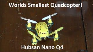 Video Hubsan Nano Q4 Review & Flight Test! download MP3, 3GP, MP4, WEBM, AVI, FLV Desember 2017