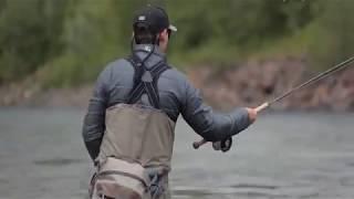 Нахлыстовая ловля лосося #1