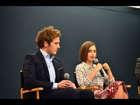 Sam Claflin and Lily Collins: Love, Rosie Interview