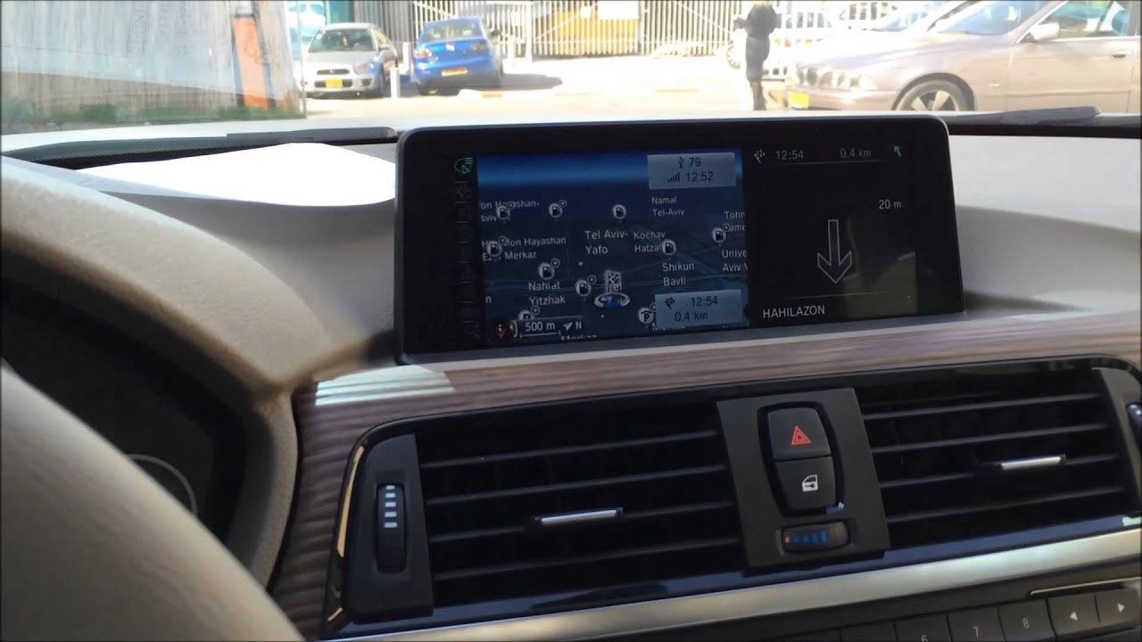 bmw f30 335i retrofit original navigation system with. Black Bedroom Furniture Sets. Home Design Ideas