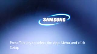 How to Boot from USB in samsung Laptop