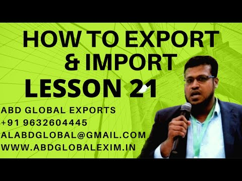 PRODUCT  SELECTION IN EXPORTS-ENGLISH VERSION-PART 1
