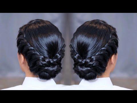 TWIST BRAID Hairstyle HAIRUPDO #ทรงผมรับปริญญา #สอนทำผม #ทรงผมง่ายๆ #เกล้าผม #เก็บผม