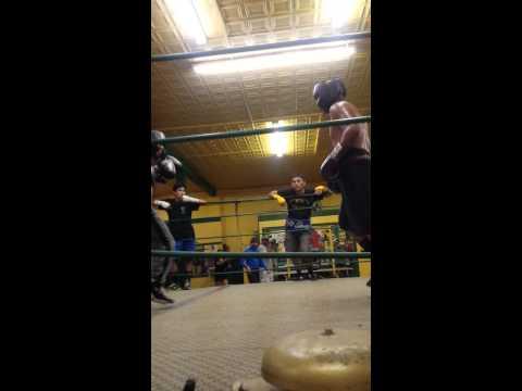 The zarzamora street kid sparring