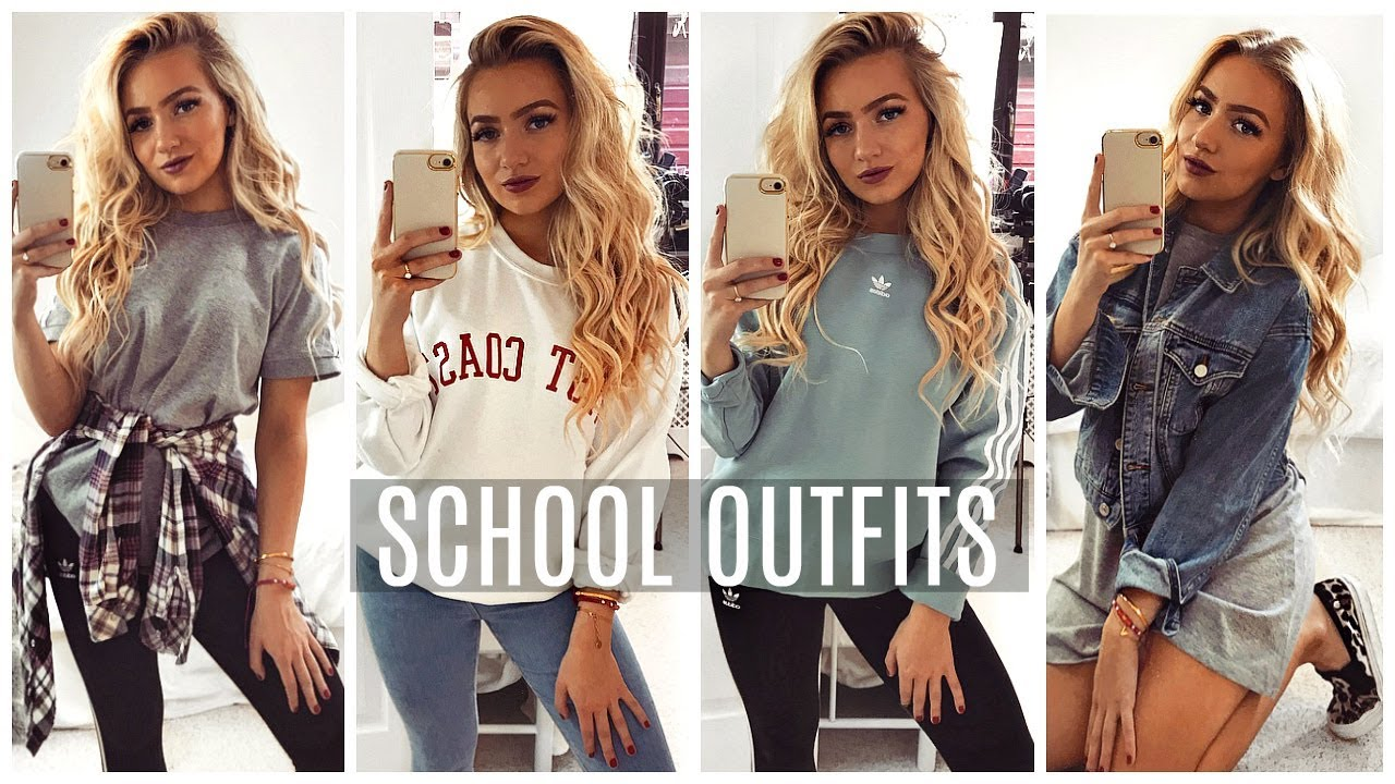 HOW TO LOOK GOOD IN SCHOOL DRESS CODE! Outfit Ideas 17